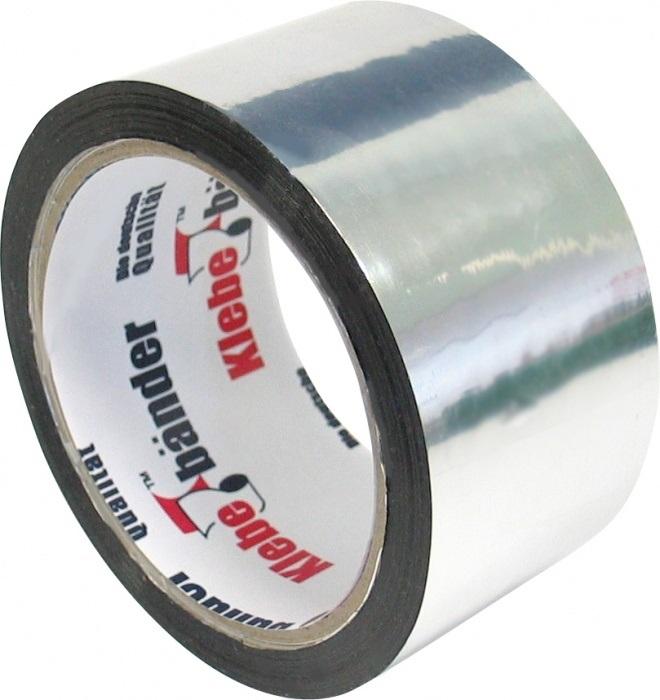 Скотч алюминиевый (Aluminium Tape), (Klebebander) 0,1 х 50 мм