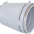 Муфта для электрофузионной сварки больших диаметров