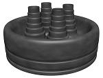 Резиновые защитные наконечники для многотрубной системы, ФЛЕКСАЛЕН 1000+