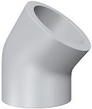 Уголок 45° для раструбной сварки