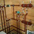 Выбор труб для подключения отопления бани от дома